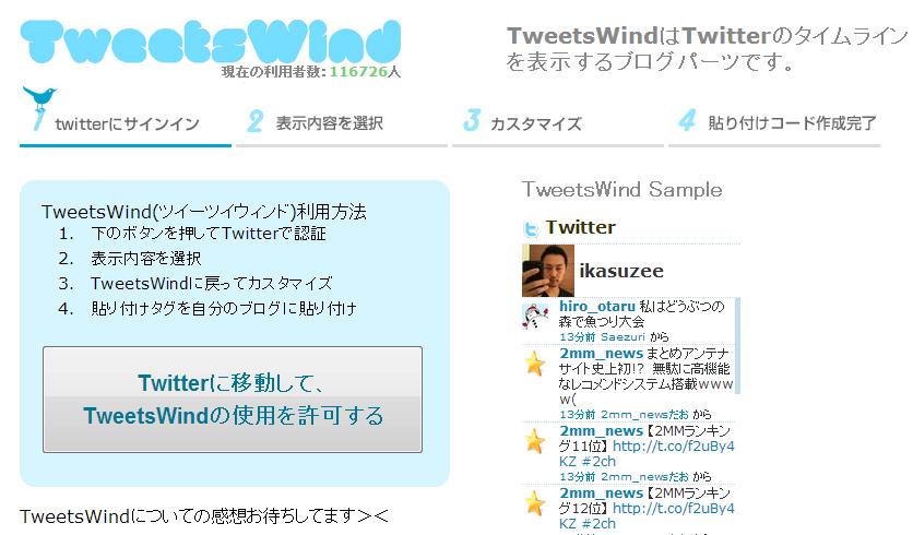 tweetsWind