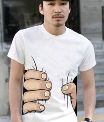 痩せて見えるTシャツ